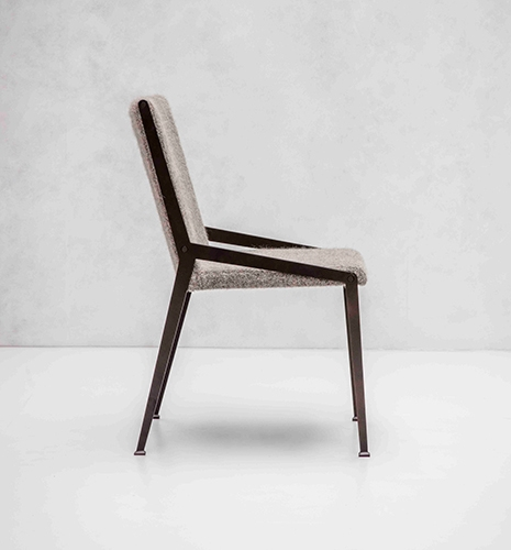 Hollace Cluny / BERLIN DINING CHAIR by Tom Faulkner