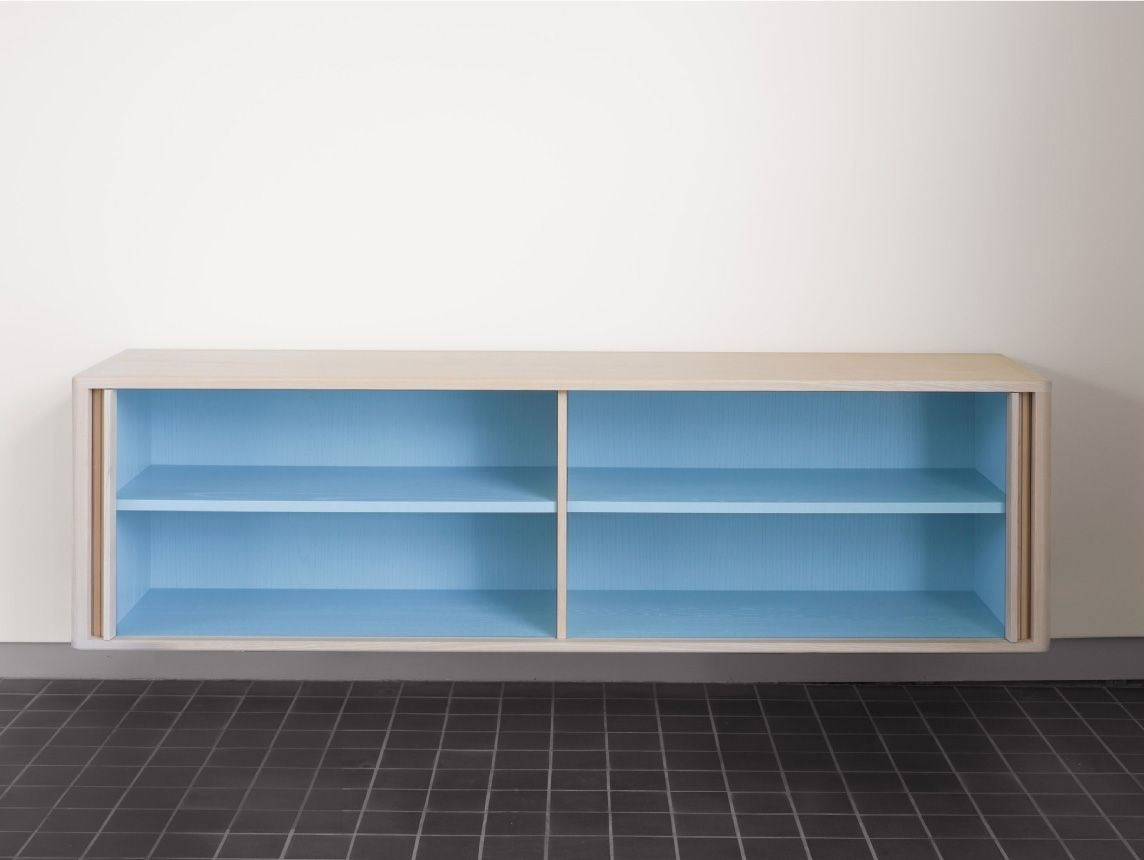 La Credenza Supplier : Hollace cluny tambour credenza series by bassamfellows