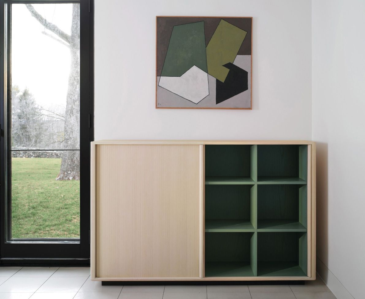 La Credenza On The Road : Hollace cluny tambour credenza series by bassamfellows